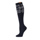 BearPaw Women's Nordic Knee High Socks - Black