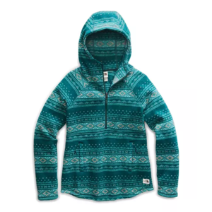 The North Face Women's Printed Crescent Hooded Fleece Pullover