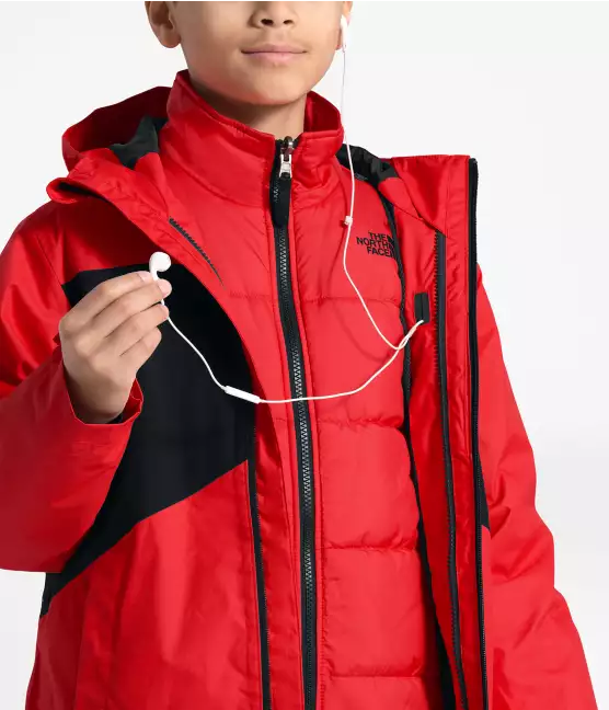 Boy's Clement TriClimate Waterproof Jacket