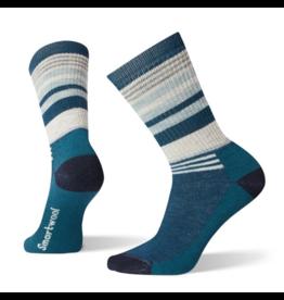 SmartWool Women's Hike Medium Cushion Striped Crew Socks