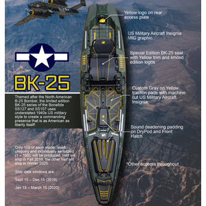 Bonafide Kayaks SS127 LTD -2020