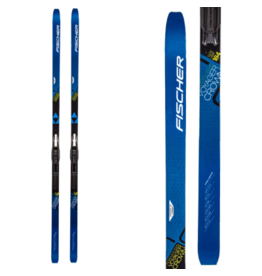 Fischer Voyager EF Mounted Touring XC Skis