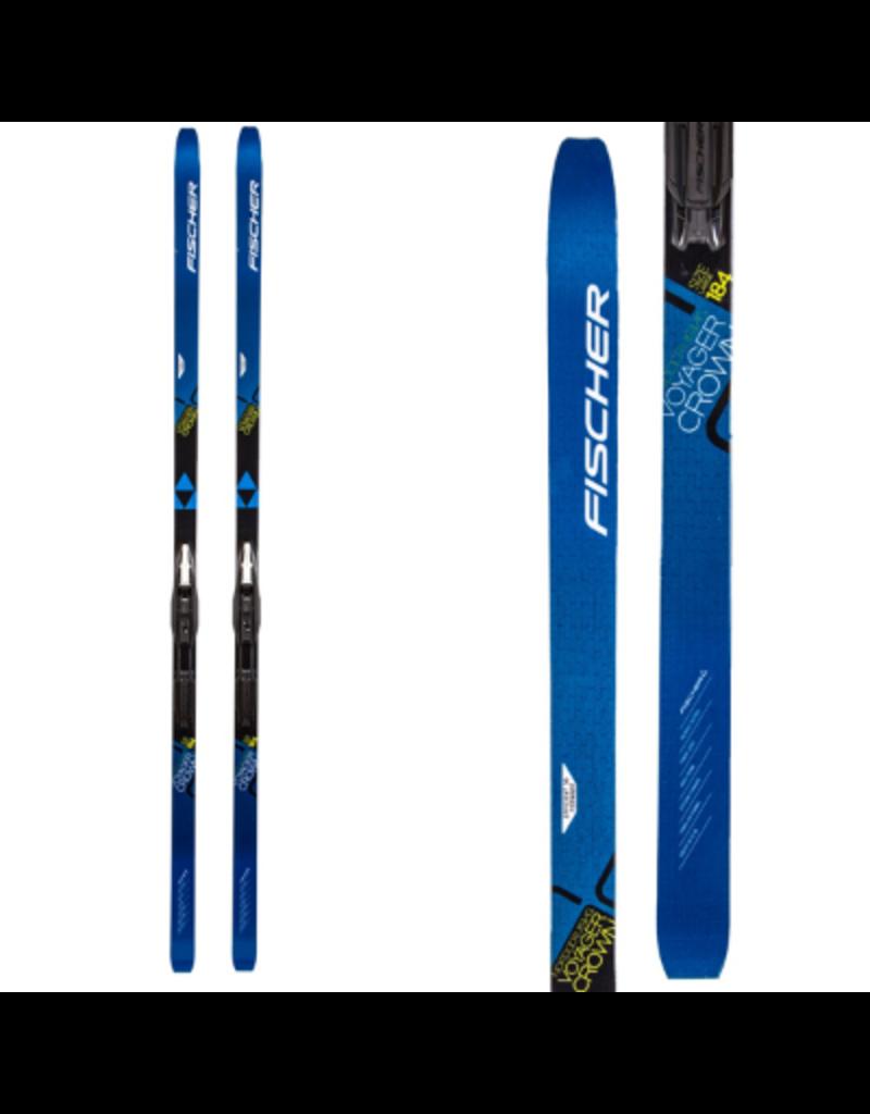 Fischer Voyager EF Mounted Skis