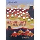 Peak Quest ADK Fire Tower Scratch Card 5x7