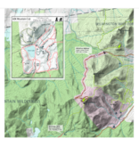 Green Goat Maps Lake Placid and Saranac Winter Trails Map
