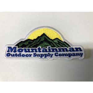 Mountainman Limited Edition Patch