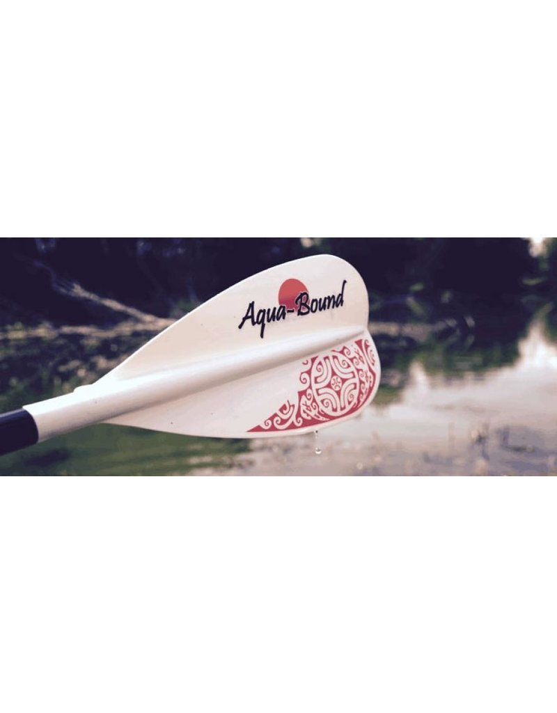 Aqua-Bound Lyric White FG Blade Carbon Shaft 2pc SUP Paddle