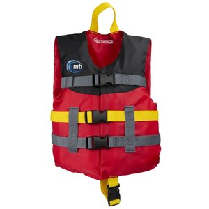 MTI Child Livery PFD Red/Black/Red (30-50lb)