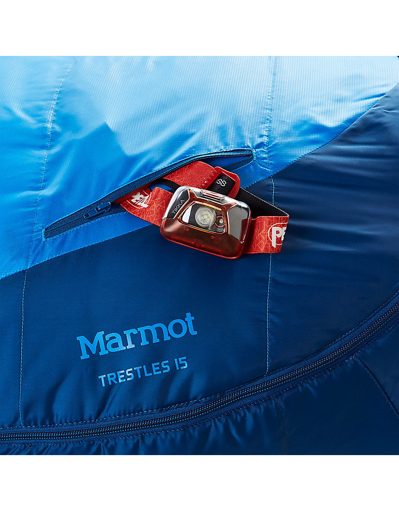 Marmot Trestles 15 Long - Cobalt Blue/Blue Night LZ