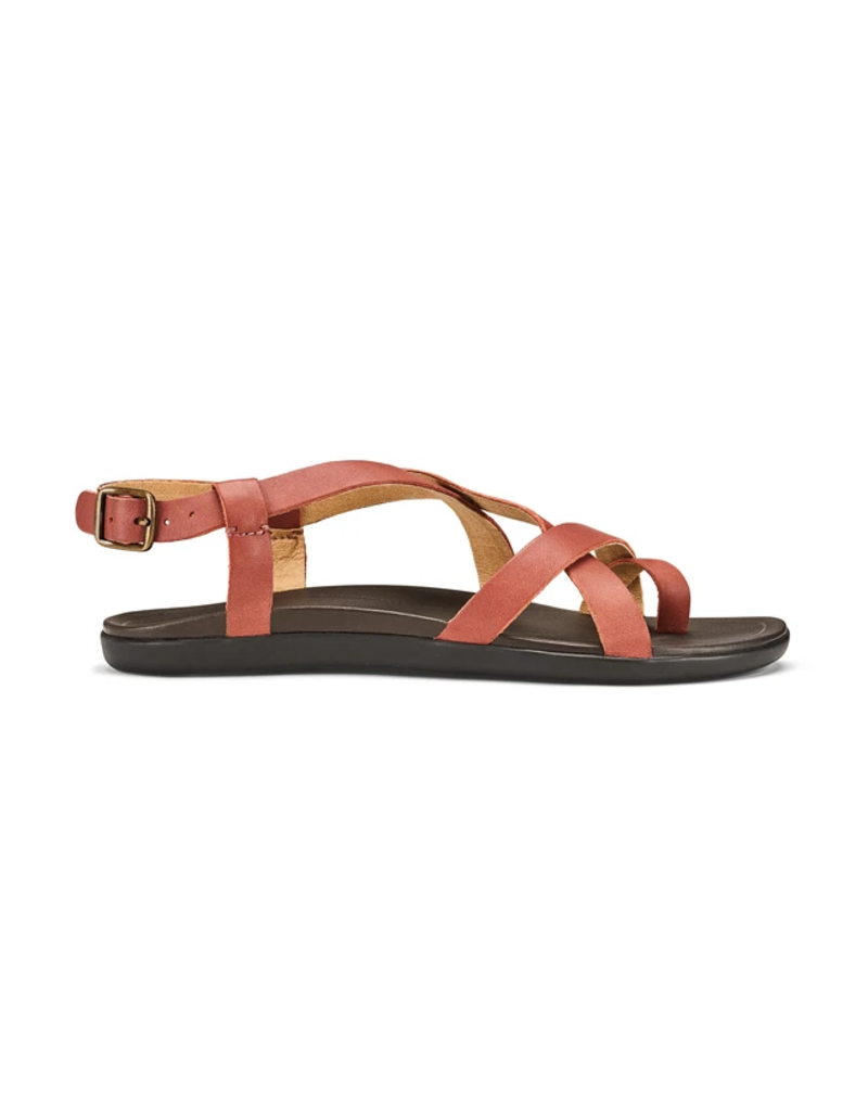 Olukai Women's Upena Leather Slingback Sandal