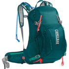 Camelbak Women's Sundowner LR 22 100oz Hydration Pack - Deep Teal/Hot Coral - Closeout