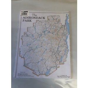 ADIRONDACK MAPS The Adirondacks Map Series - ADK Park, Canoe Map & More