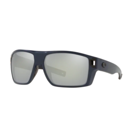 Costa Del Mar Diego Sunglasses 580G Matte Midnight Frame Gray Mirror Lens