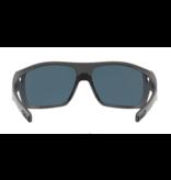 Costa Del Mar Diego Sunglasses 580P Matte Black Frame Blue Mirror Lens