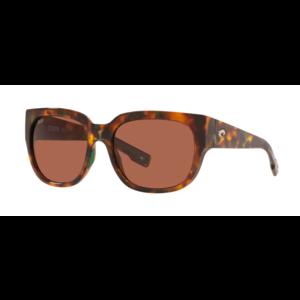 Costa Del Mar Waterwoman Sunglasses 580P Shiny Palm Tortoise Frame - Copper Lens