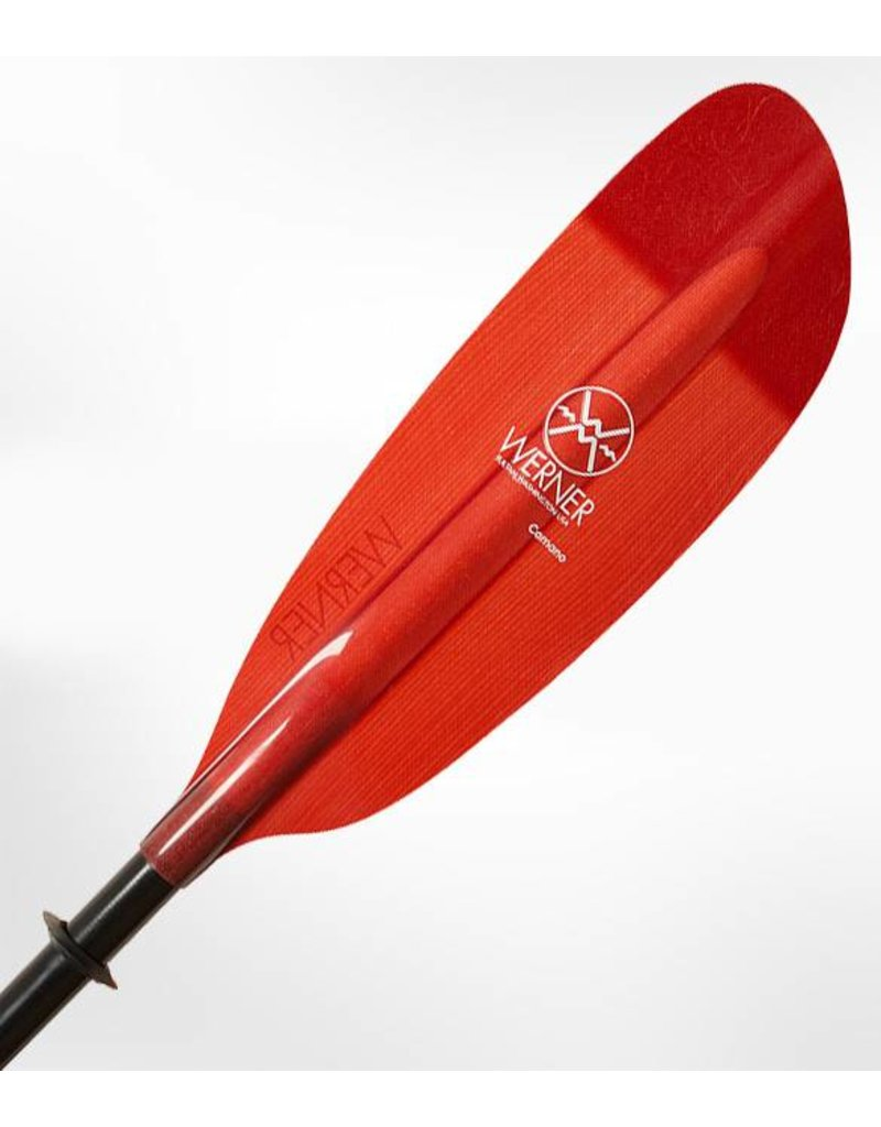 Werner Paddles Camano Straight Shaft Fiberglass Kayak Paddle
