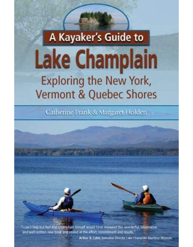 North Country Books Inc. Kayakers Guide To Lake Champlain Closeout