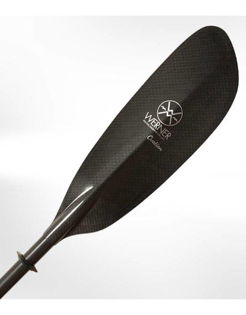 Werner Paddles Ovation Bent Shaft Carbon Fiber Kayak Paddle