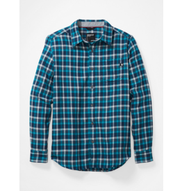 Marmot Men's Fairfax Mideweight Flannel Long Sleeve Shirt