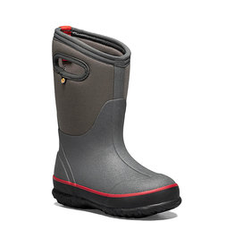 Bogs Kid's Classic Texture Solid Waterproof Insulated Boot