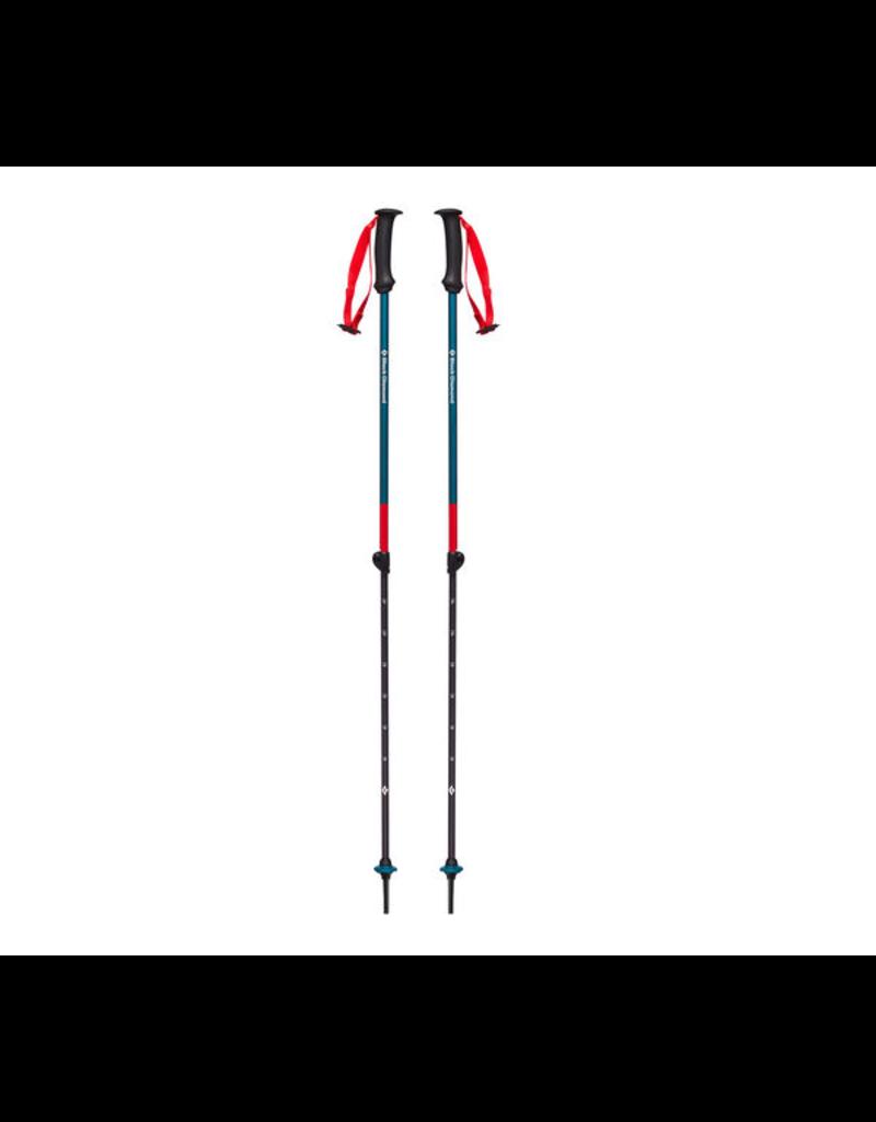 Black Diamond Kid's First Strike Trekking Poles - Fjord Blue