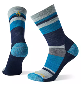 SmartWool Women's Striped Hike Light Cushion Crew Socks