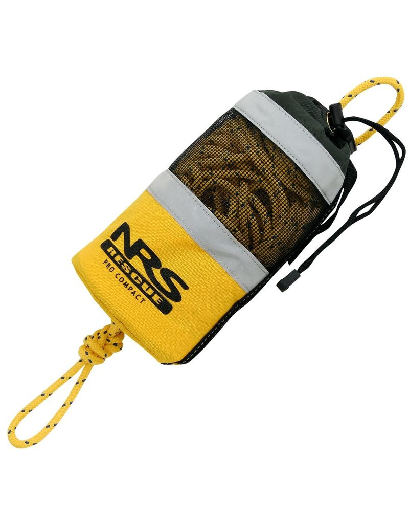 NRS Pro Compact Rescue Throw Bag Yellow