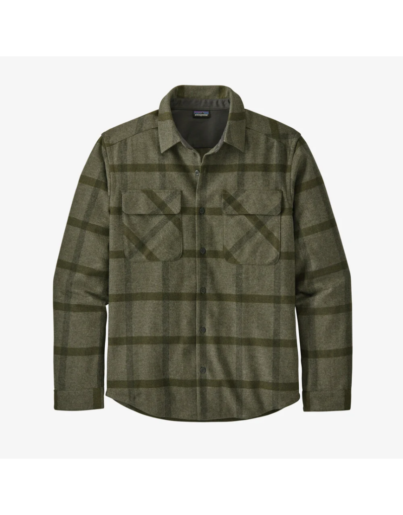 Patagonia Men's Long Sleeve Recycled Wool Shirt