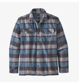Patagonia Men's Long Sleeved Fjord Flannel Shirt