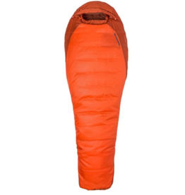 Marmot Trestles 0 Orange Haze/Dark Rust Long Left Zip