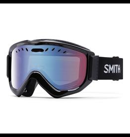 Smith Optics Knowledge OTG Black Frame Blue Sensor Mirror Lens