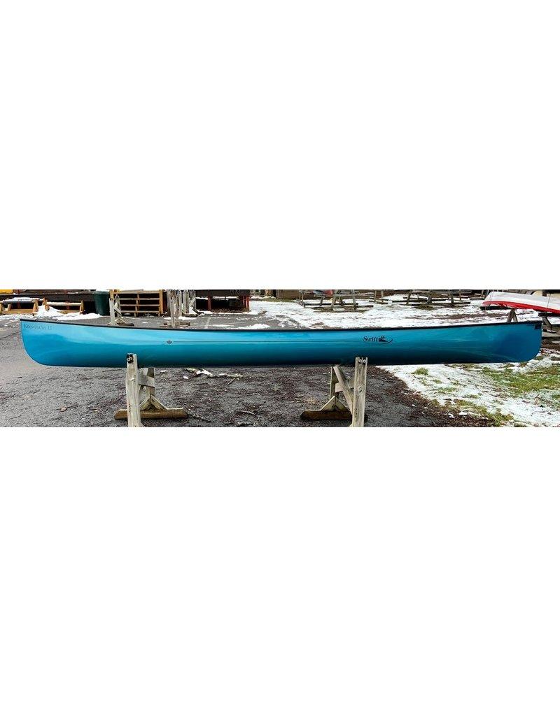 Swift Canoe Keewaydin 15 KF Sapphire AT Cherry Seats 10304-037