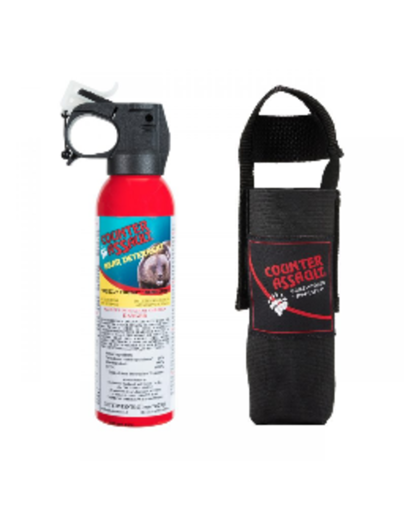 Counter Assault 8.1oz Bear Spray w/Holster