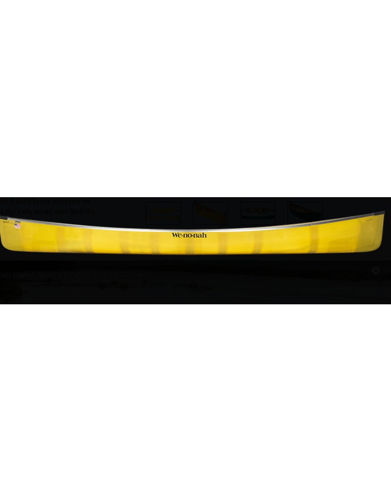 Wenonah Canoe Spirit II Kevlar Ultralight Black Web Sliding Bow - 2020