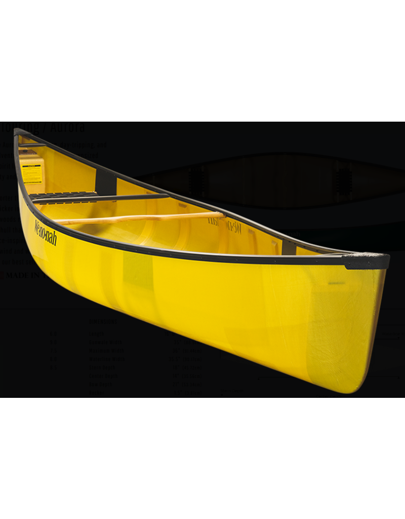 Wenonah Canoe Aurora 16 KUL BLK Ash H W (2020)