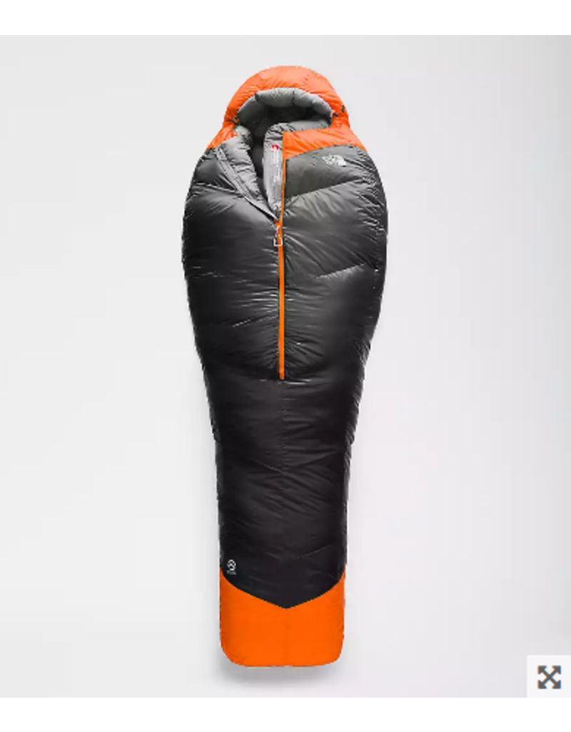 The North Face INFERNO -20F/-29C Asphalt Grey/Caution Orange REG