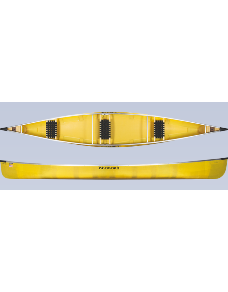 Wenonah Canoe Solo Plus Kevlar Ultralight Black Trim