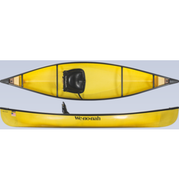 Wenonah Canoe Wee Lassie 10'6 Kevlar Ultralight Black Trim