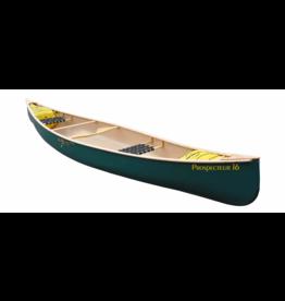 Esquif Prospector 16 T-Formex Tandem Canoe Green - 2021