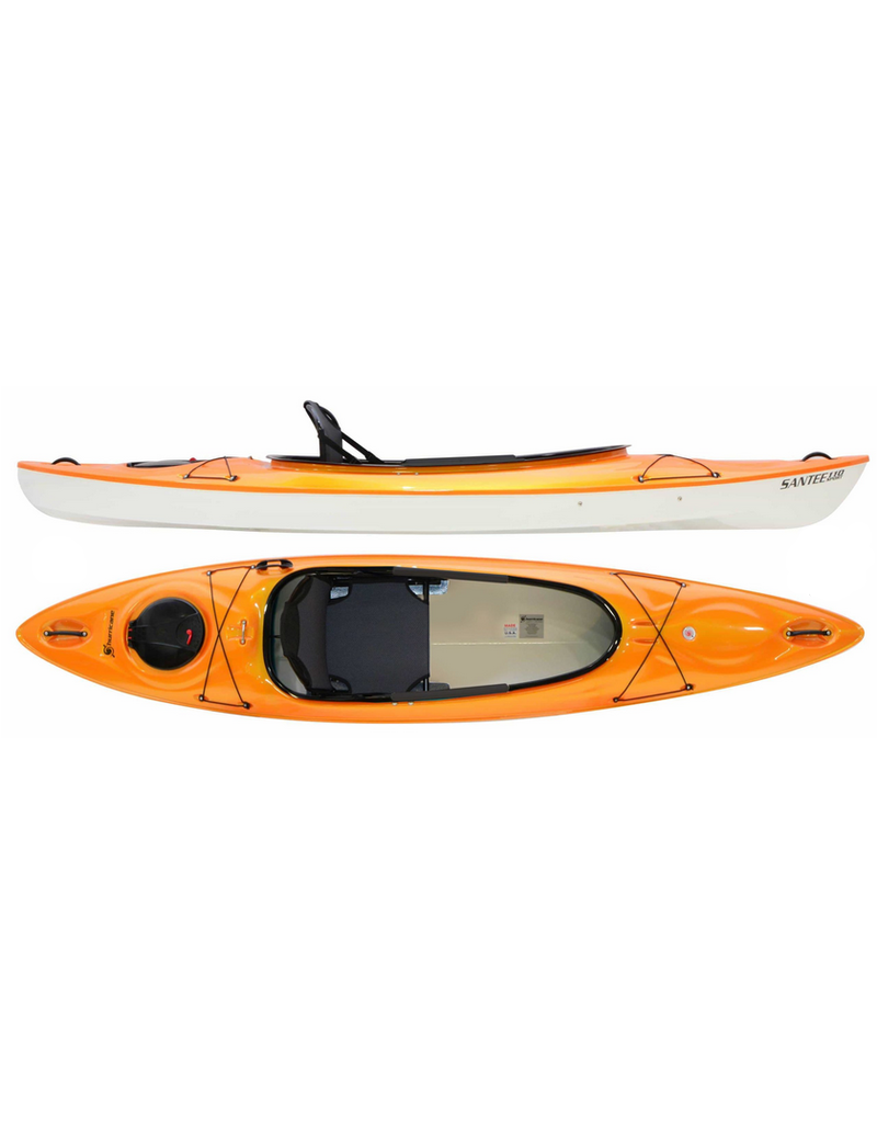 Hurricane Kayaks Santee 110 Sport Lightweight Recreational Kayak - 2021