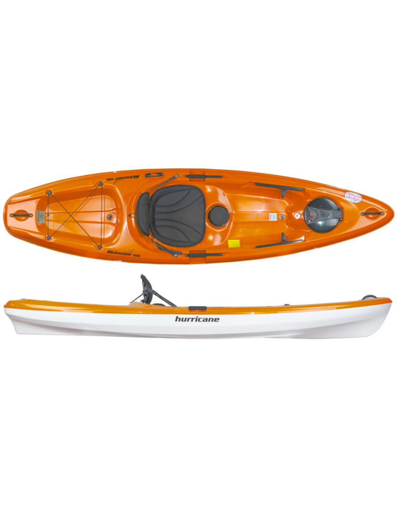 Hurricane Kayaks Skimmer 106 Lightweight Sit on Top Kayak - 2021