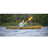 Northstar Canoes ADK  Solo 12' White Gold Aluminum Trim - Emerald - 2021