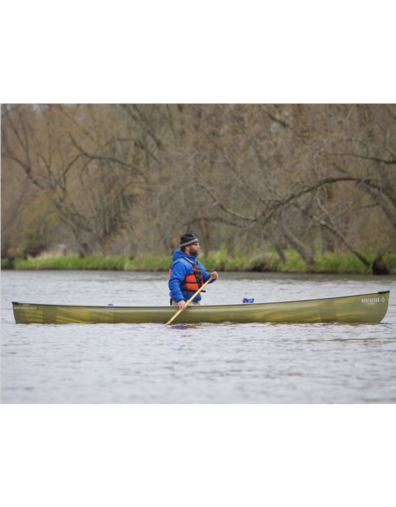 Northstar Canoes Northwind Solo BlackLite Carbon Trim - Clear - 2021