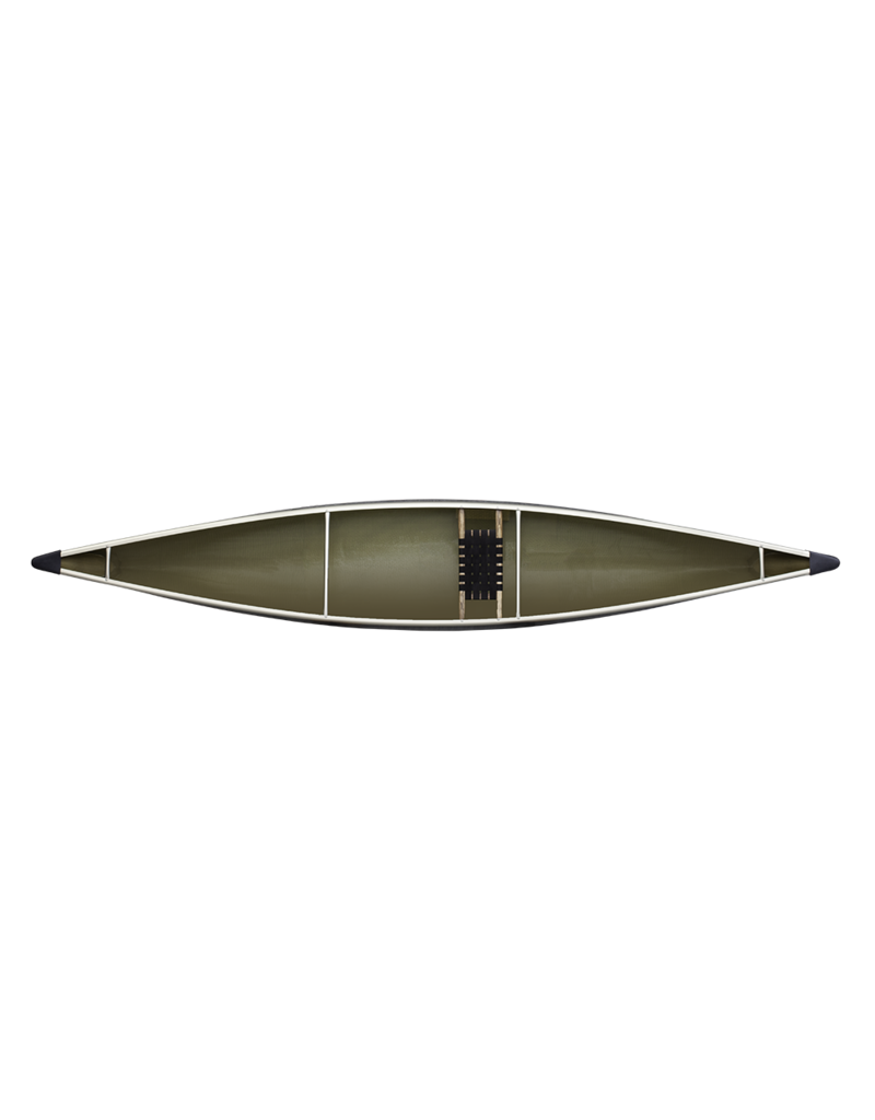 Northstar Canoes Northwind Solo StarLite Aluminum Trim - Clear - 2021