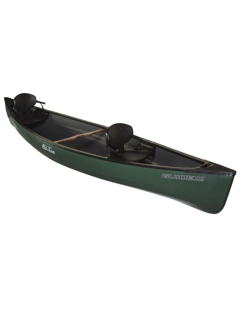 Old Town Canoe Guide 147 Tandem Recreational Canoe - Green - 2021