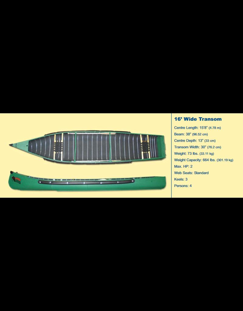 Radisson Canoes 16' Wide w/ Webb Seats - 2021