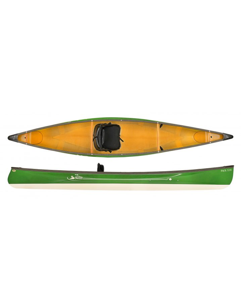 Swift Canoe Pack 12.6 Kevlar Fusion Ruby/Champagne - 2021