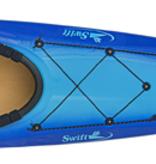 Swift Kayak Saranac 14 w/ Skeg Kevlar Fusion Glacier/Champagne - 2021 Pre-Order