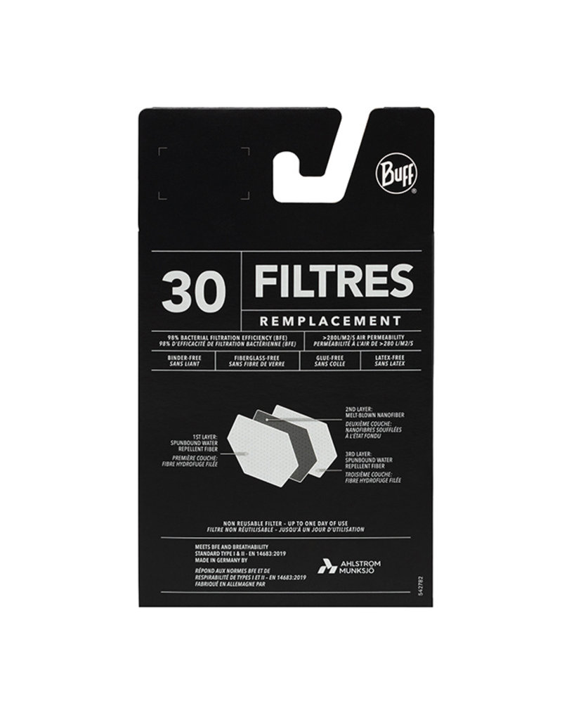 Buff 30 Pack Filter Replacement Adult