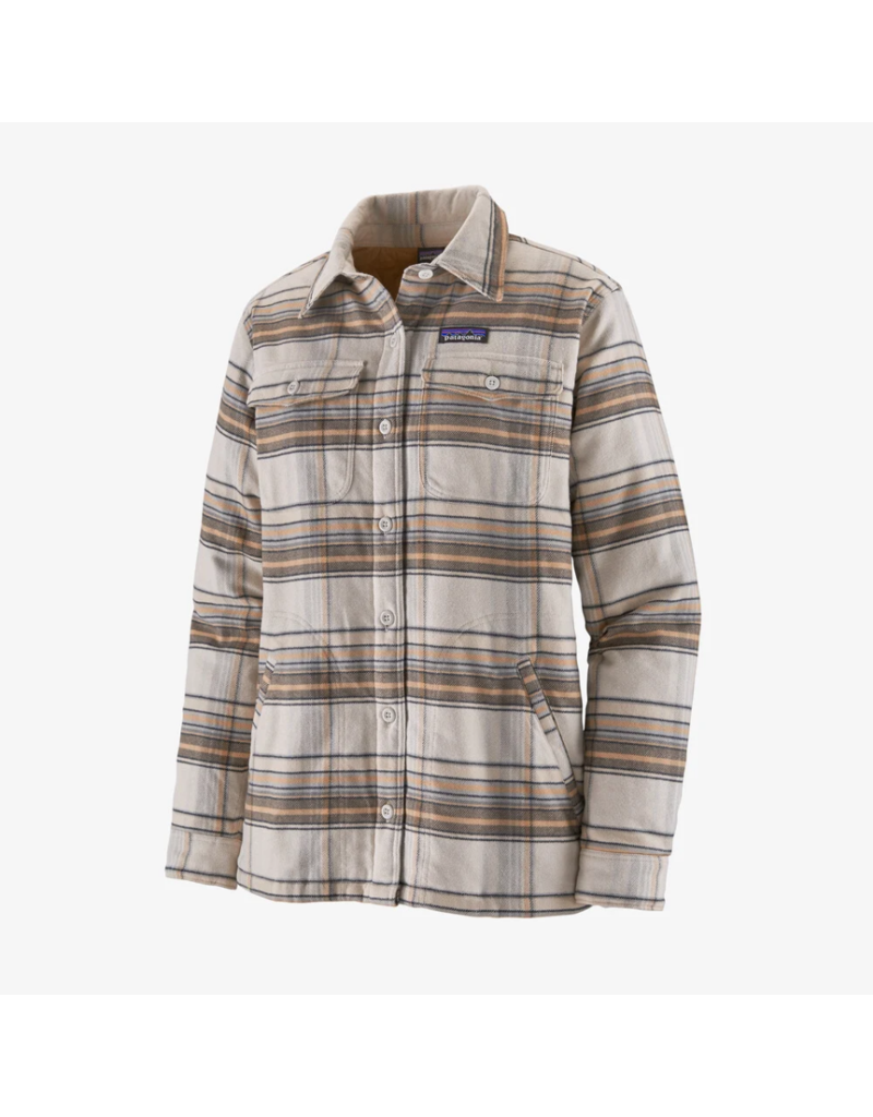 Patagonia Women's Insulated Fjord Flannel Jacket Closeout